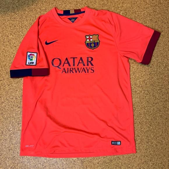 more photos 84ac9 1d3ee Barcelona Alternate Jersey